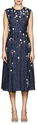 Cédric Charlier Women's Embellished Silk Midi-Dress