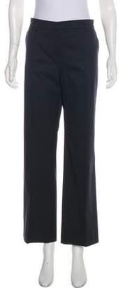Lanvin Wide-Leg Mid-Rise Pants