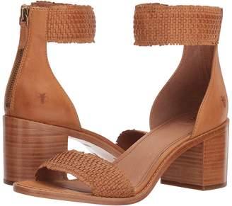 Frye Bianca Woven Back Zip Women's Sandals