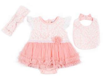 Nicole Miller 3-pc. Layette Set-Baby Girls