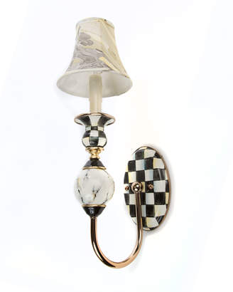 Mackenzie Childs Courtly Palazzo Single Sconce