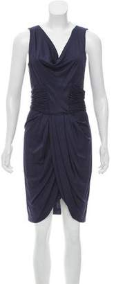 J. Mendel Draped Sleeveless Dress