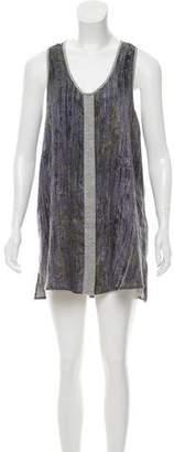 Rag & Bone Sleeveless Printed Dress