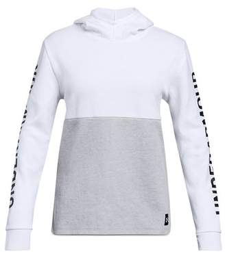 Under Armour Girls' Double-Knit Fleece Hoodie - Big Kid