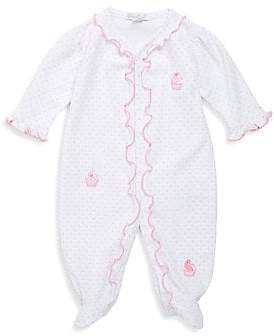 Kissy Kissy Baby Girl's Craving Cupcake Cotton Footie