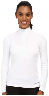 Hot Chillys Peach Zip-T Women's T Shirt