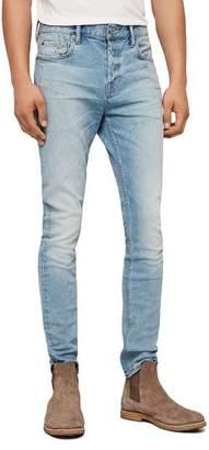AllSaints Cigarette Skinny Jeans in Light Indigo