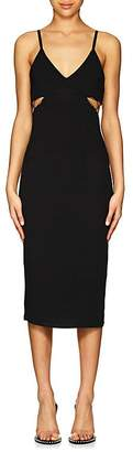 Alexander Wang Women's Jersey Cutout Fitted Dress