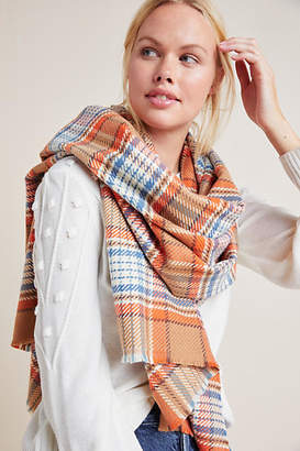 Anthropologie Cordelia Plaid Scarf