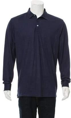 Peter Millar Silk Blend Polo Shirt