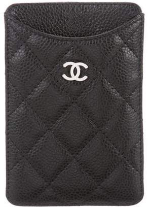 Chanel Caviar CC Phone Case w/ Tags