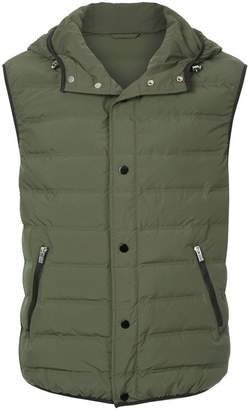 CK Calvin Klein quilted padded gilet