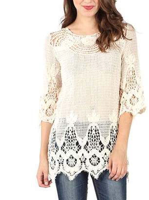 Asstd National Brand Crochet Tunic