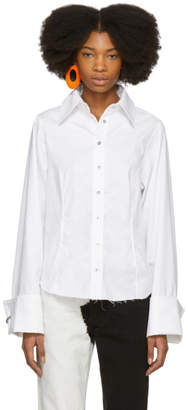 Marques Almeida White Princess Line Shirt