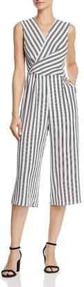 Aqua Twist Detail Striped Jumpsuit - 100% Exclusive