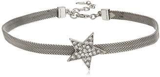 Swarovski Ben-Amun Jewelry Rock Star Crystal Choker Necklace