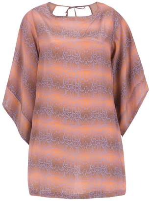 Amir Slama silk beache dress