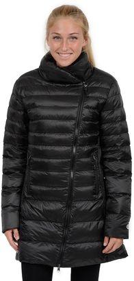 Women's Champion Asymmetrical Puffer Jacket $150 thestylecure.com