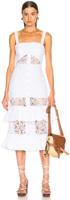 Alexis Lyssa Dress in White   FWRD