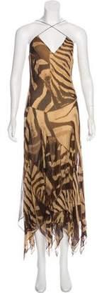 Ralph Lauren Silk Maxi Dress w/ Tags