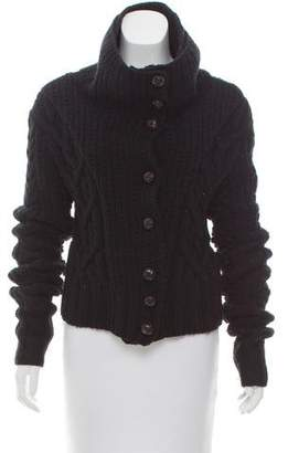 Nicholas K Long Sleeve Textured Cardigan