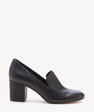 Sole Society Women's Madigan Loafers Pumps Black Size 5 Leather From