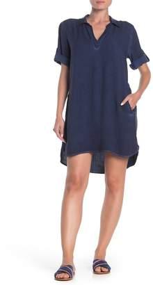 Velvet Heart Macey Tab Sleeve Collared Dress