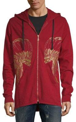 Glitter Headdress Cotton Jacket