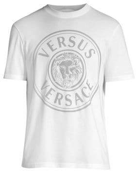 Versace Lion Head Cotton Tee