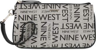 Nine West East West Signature Wristlet