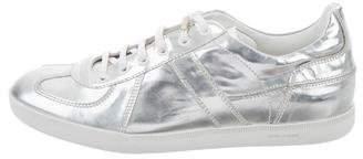 Christian Dior 2008 Metallic Low-Top Sneakers