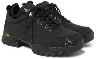 ROA Neal Suede And Nylon Hiking Sneakers
