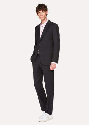 Paul Smith The Mayfair - Men's Classic-Fit Charcoal Wool 'A Suit To Travel In'