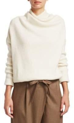 Loro Piana Reswick Cashmere Draped Sweater