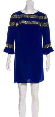 Rebecca Taylor Silk Shift Dress