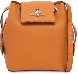 Vivienne Westwood Pimlico Leather Bucket Bag