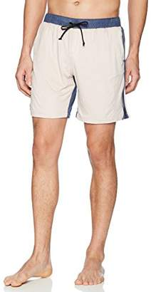 Thaddeus O'Neil Men's Ultra Suede Swim Trunk