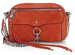 Rebecca Minkoff Women's Blythe Suede Crossbody Bag