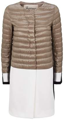 Herno Two-Tone Down Coat
