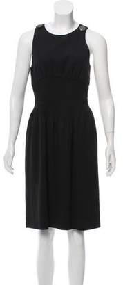 Chanel Silk Sleeveless Dress