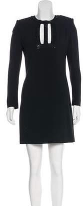 Saint Laurent Embellished Mini Dress