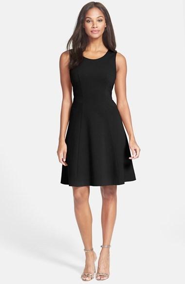 Rachel Roy Ponte Fit & Flare Dress