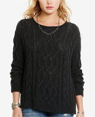 Denim & Supply Ralph Lauren Cable-Knit Sweater $98 thestylecure.com