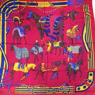 Hermes Silk Handkerchief