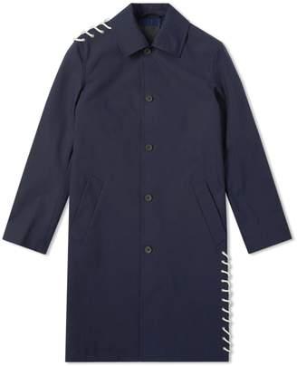Craig Green Laced Bonded Long Coat