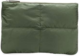 Jil Sander quilted medium pouch