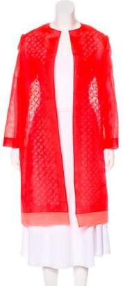 Fendi Lightweight Organza Coat