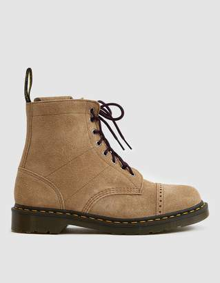 Dr. Martens Needles 1460 Suede Boot in Sand