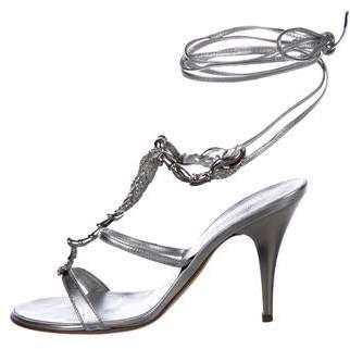 Giuseppe Zanotti Embellished Wrap-Around Sandals
