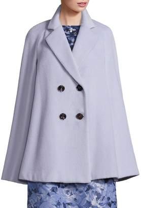 Lafayette 148 New York Women's Rosanna Alpaca & Virgin Wool Cape Coat